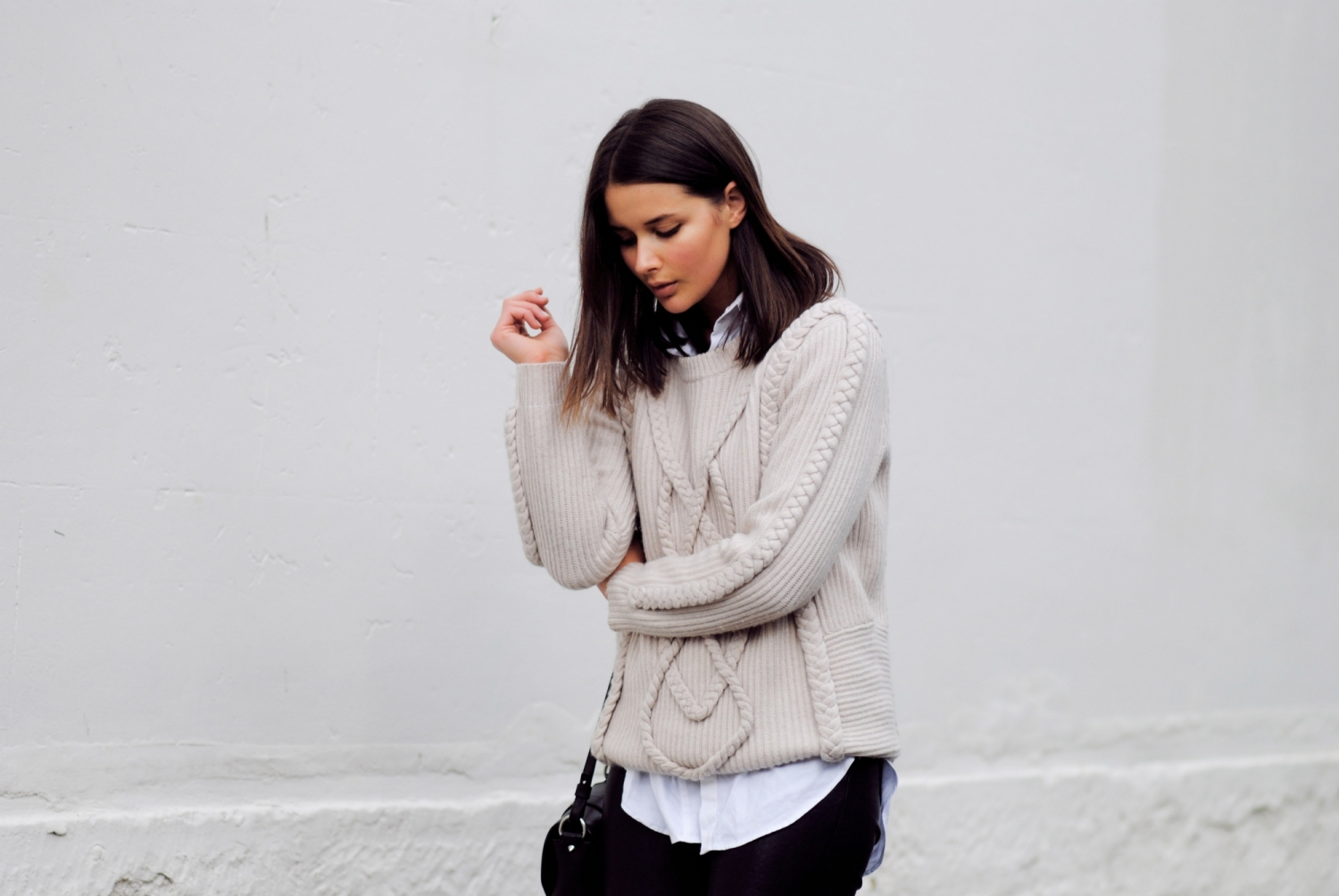 harper and harley_cable knit_nude_leather_blogger_1