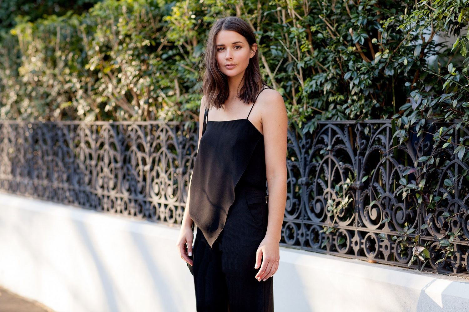 harper and harley_fashion blogger_black outfit_camilla and marc_wide leg pants_4
