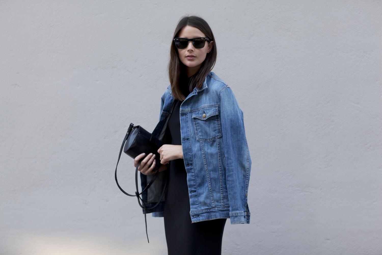 harper and harley_sara donaldson_denim jacket_black dress_fashion blogger_6