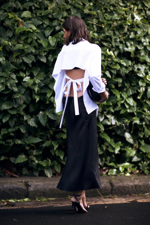 harper-and-harley_tome-open-back-white-shirt_black-silk-skirt_1