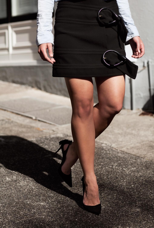 harper-and-harley_sara-donaldson_jw-anderson_denim-shirt_black-mini-skirt_2