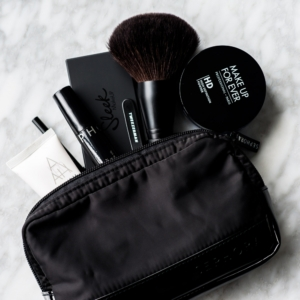 beauty bag essentials with products from Sephora Australia