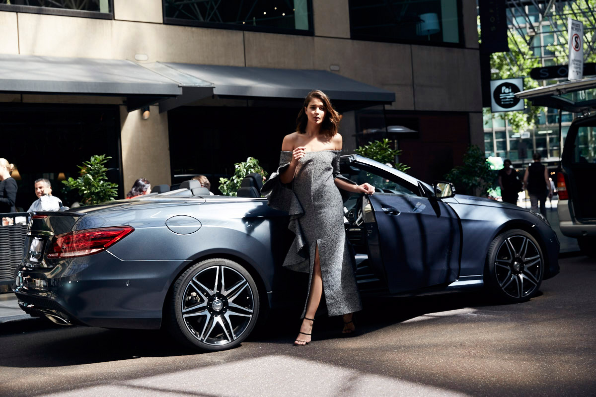 Mercedes Benz Road Trip Campaign featuring Harper and Harley's Sara Donaldson