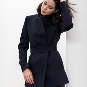 black leather pants   Navy Jacket   Outfit   Style   HarperandHarley