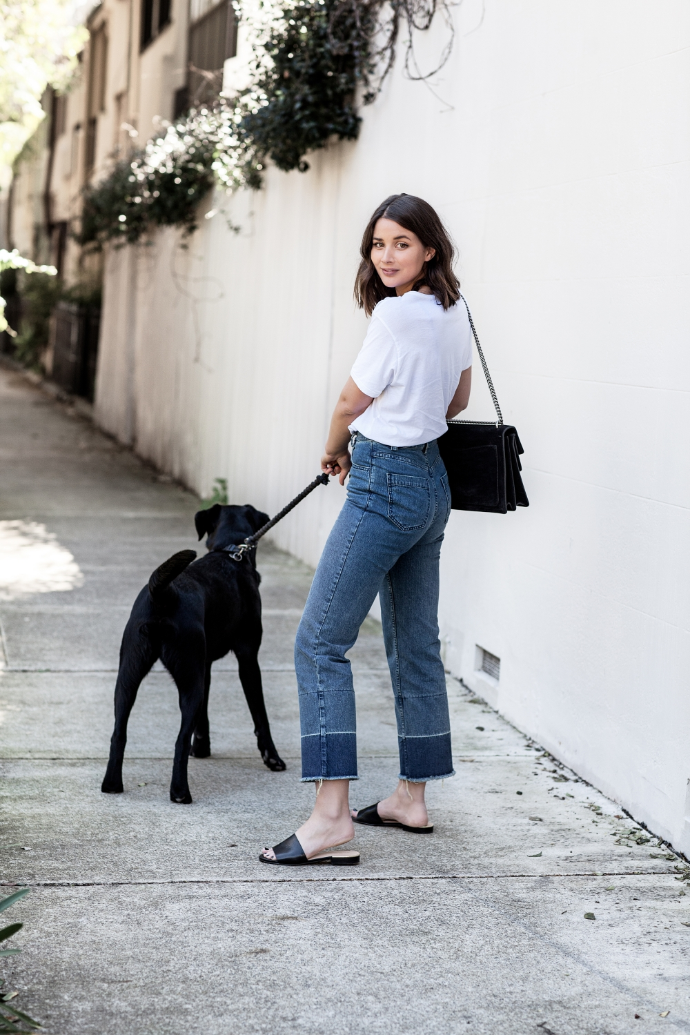 Rachel Comey Slim Legion Jeans | Gucci Bag | Style | Outfit | Harper and Harley