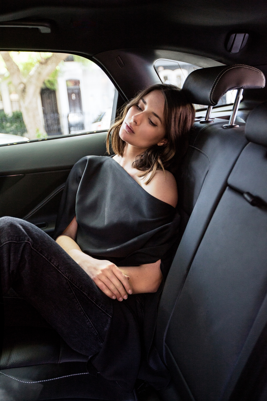Christopher Esber Ilona Top | Car| Editorial | Streetstyle | Harper and Harley