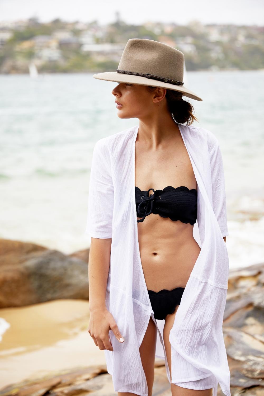 Marysia Swim | Black Scallop bikini | Beach | Swimwear | Style | HarperandHarley