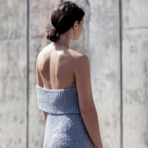 ANNA QUAN | grey knit dress | off the shoulder dress | Australian Designer | Blogger | Style