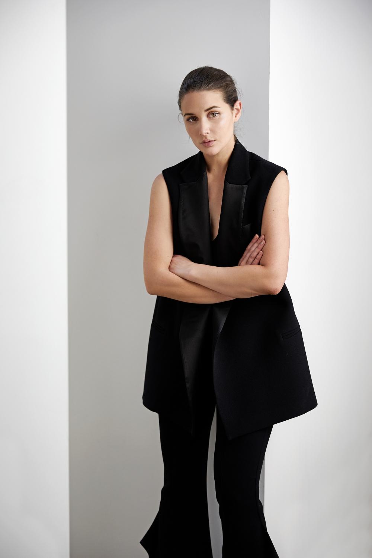 Black vest and black flares | Style | Outfit | HarperandHarley