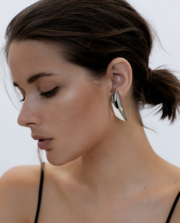 Silver Earrings   Natasha Schweitzer   Rey   Harperandharley