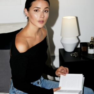 Bedside Table | Off The Shoulder top | dione lee | currently reading | Marie Kondo Tidying Up