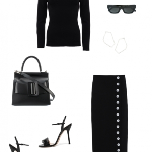 work wear | office |black outfit | style | HarperandHarley