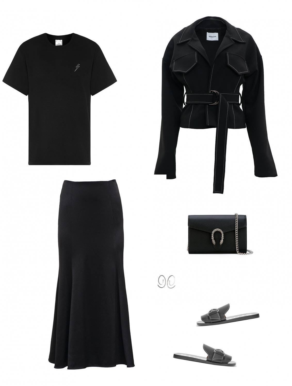 all black outfit   Georgia Alice   The UNDONE  HarperandHarley