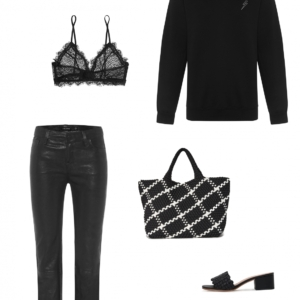 Black and White outfit inspo | Harper and Harley