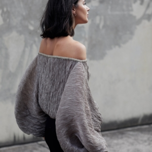 Off the shoulder top | Rachel Comey | Neutral | Style | Outfit | HarperandHarley