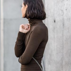street style | mbfwa | Australian fashion week | brown | neutral | short hair | brunette | harperandharley