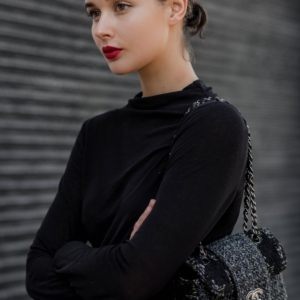 Red Lip | Beauty | MBFWA | street style | HarperandHarley