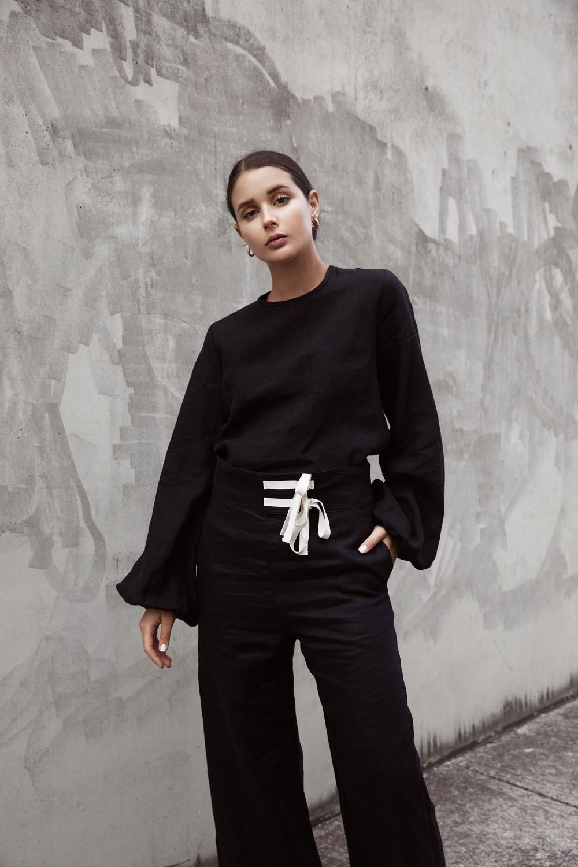 Albus Lumen | Matin Studio | Australian Designers | All black outfit | Street Style | HarperandHarley