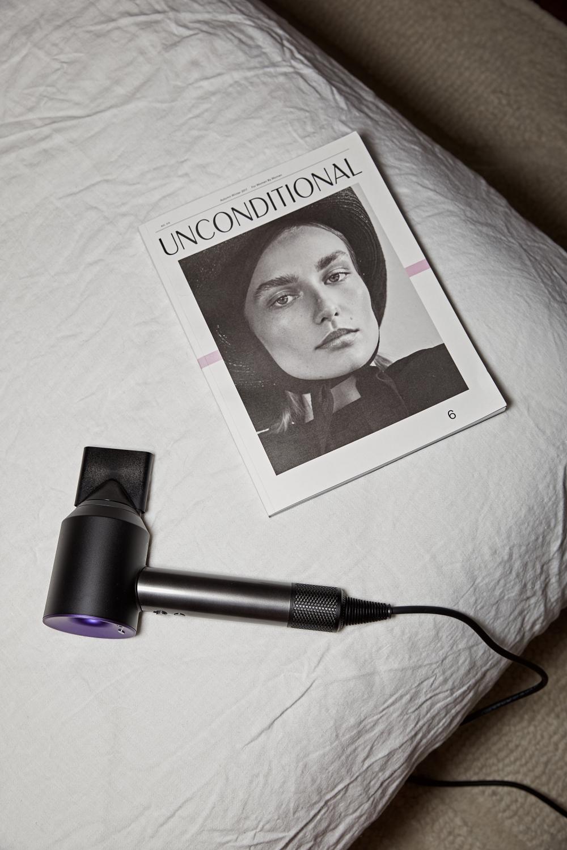 Dyson hairdryer matte black | HarperandHarley