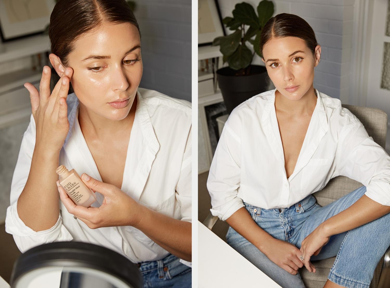 No Makeup, Makeup Look | Beauty | How to | Estee Lauder | HarperandHarley