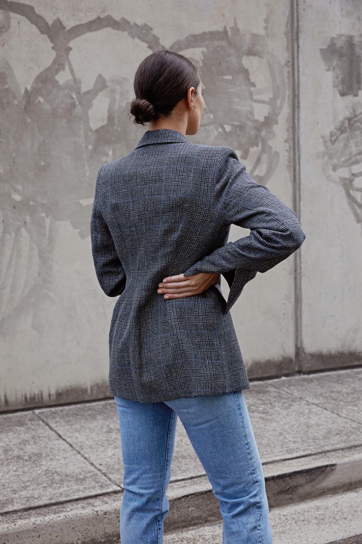 Blazer and jeans | HarperandHarley