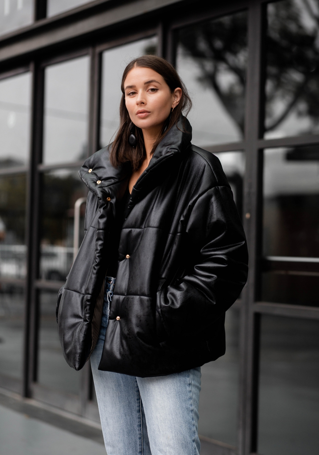 MBFWA Sydney Fashion Week 2018 | Day 1 | Outfit |Nanushka black puffy jacket | Style | HarperandHarley