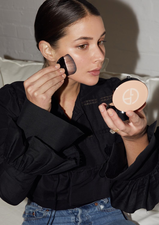nude natural makeup | Giorgio Armani Neo Nude | HarperandHarley