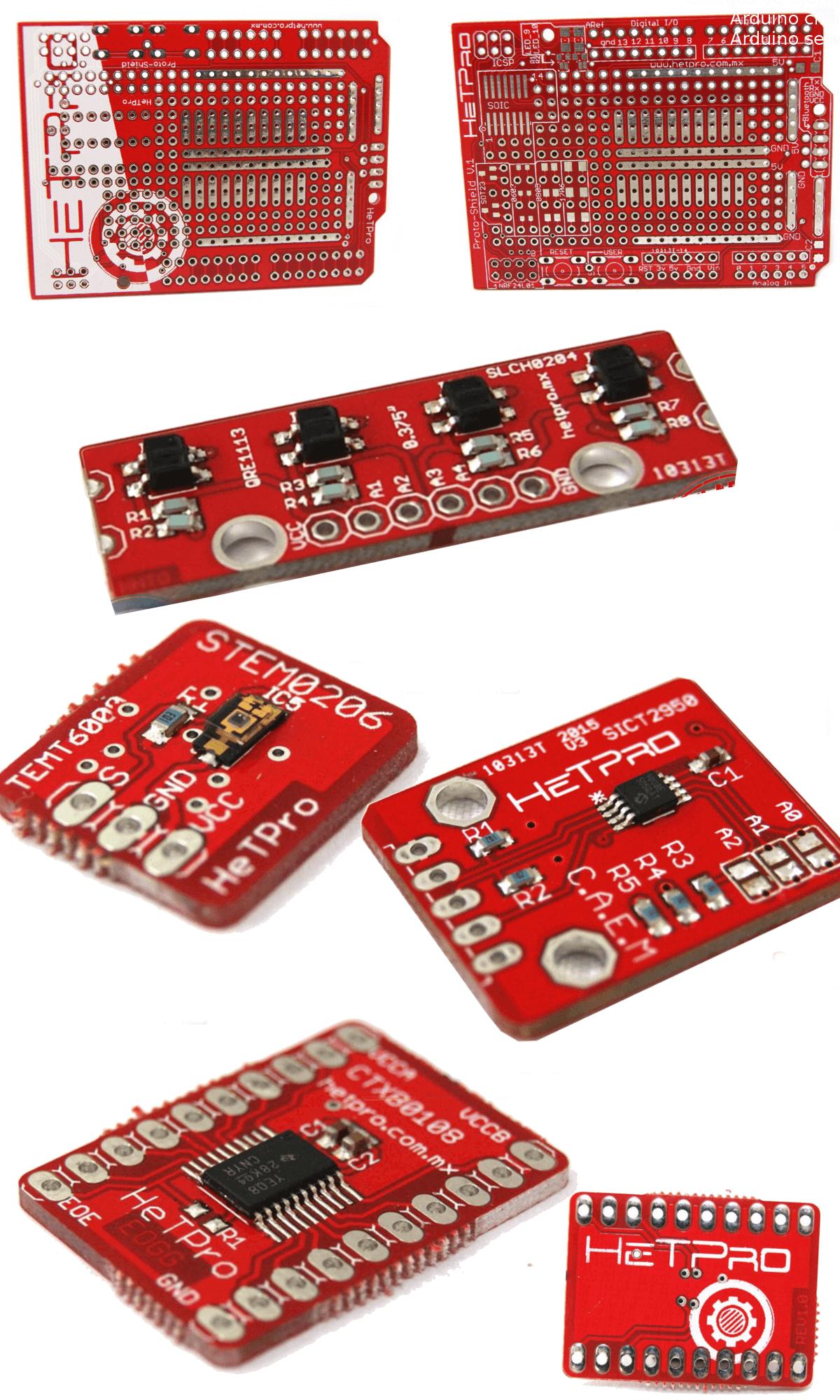 Fabricación de PCB ejemplos 1
