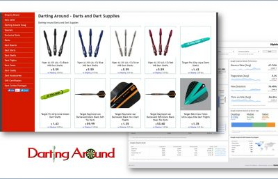 DartingAround.com dart supplies, hilartech seo services
