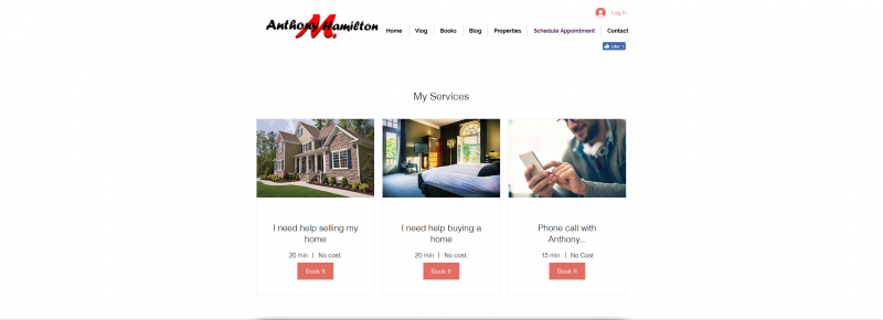 only booking for appointments, buy a home appointment, sell your home with kw