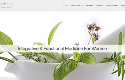 wellness website, medical website