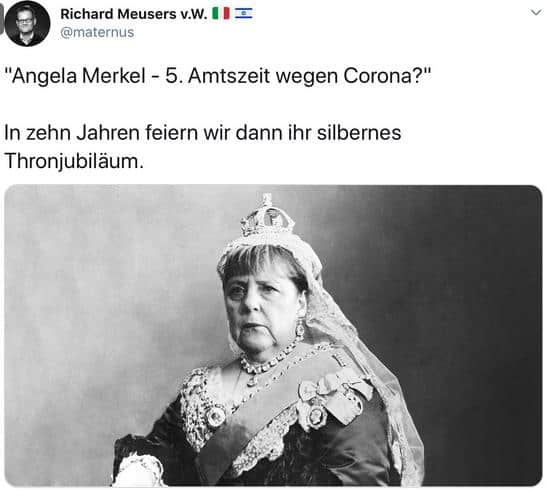 Thronjubiläum Merkel