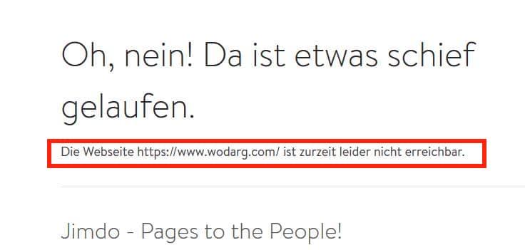 Internetseite von Dr. Wodarg zum zweiten Mal blockiert