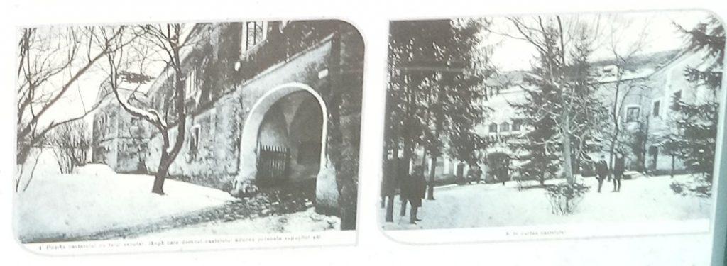 Alte Aufnahmen von Schloss Bolyai