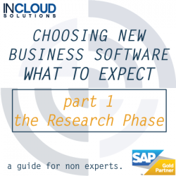 What to expect when choosing a new business software solution? Research Phase