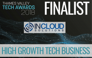 News of Nomination for In Cloud Solutions in High Growth Tech Business Award