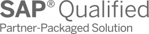 SAP qualified partner package solution logo