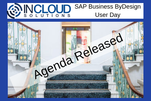 SAP Business ByDesign User Day : Agenda Released