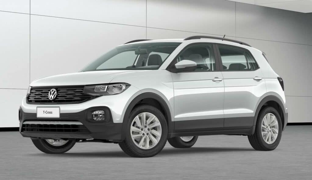 carro t-cross prata