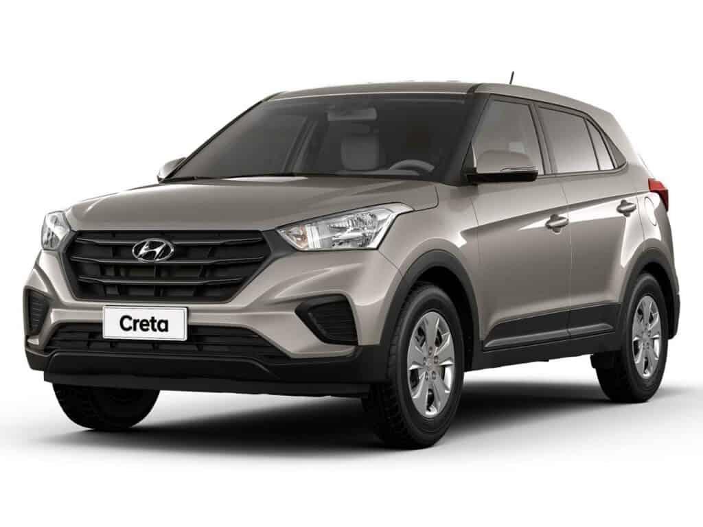 Carro Hyundai Creta Cinza