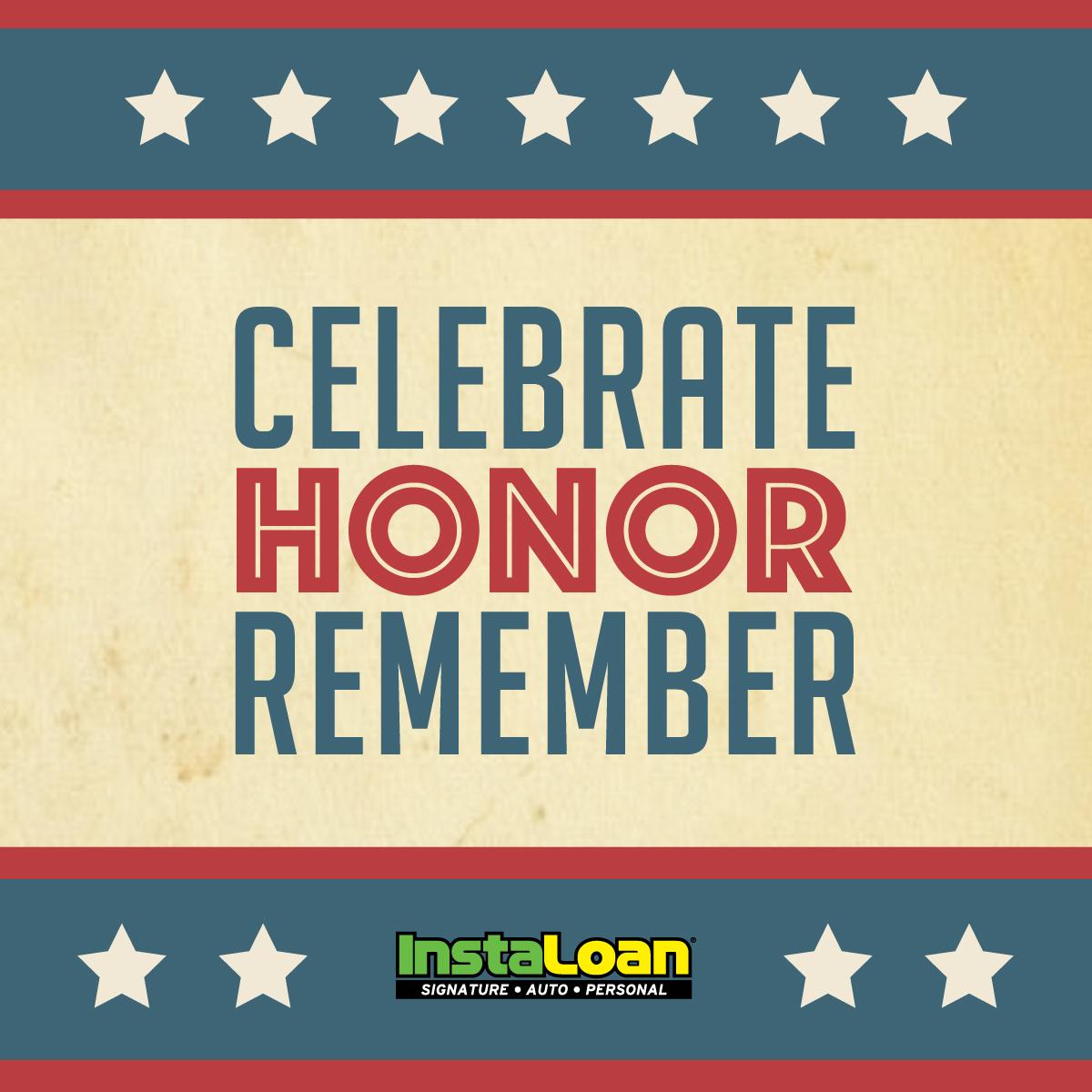 Memorial Day Celebrate in Honor