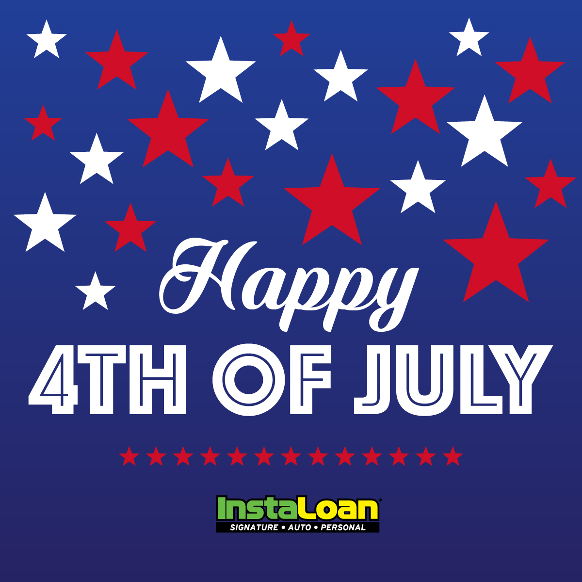 Happy Independence Day! 4th of July