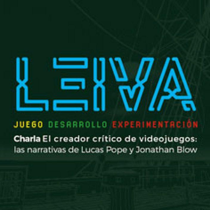 LEIVA. Juego, desarrollo, experimentación 2019