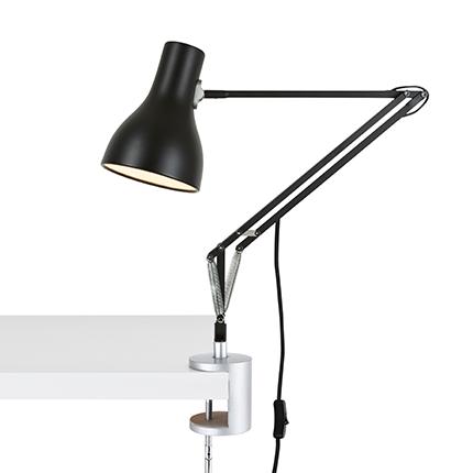 Anglepoise's  Type 75 Desk Clamp by Sir Kenneth Grange