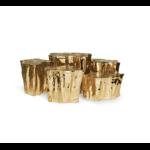 Boca do Lobo's  Eden Center Table (Copper with 14 pieces) by