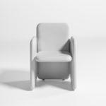 Diabla's  Big Armchair by Stefan Diez