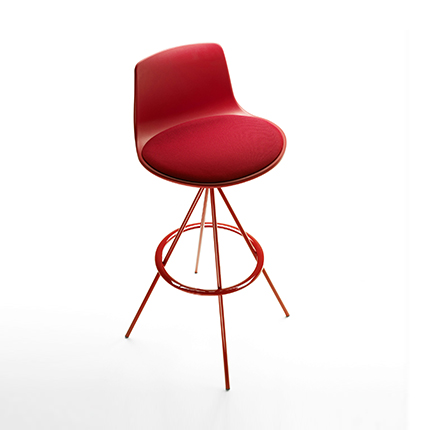 Enea's  Lottus Barstool by Lievore Alther Molina