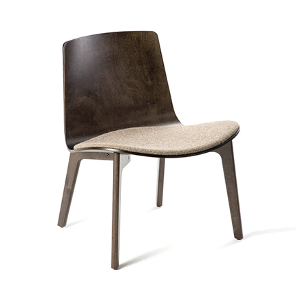 Enea's  Lottus Lounge Chair by Lievore Alther Molina