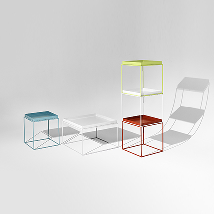 Hay's  Tray Table Square by HAY