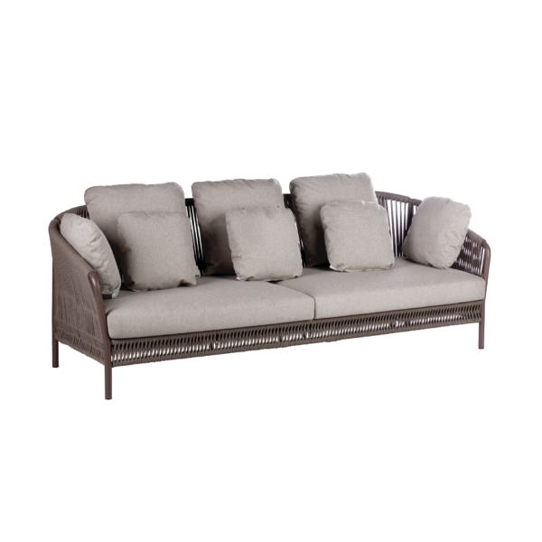 Point's  Weave 3 Seater Sofa by
